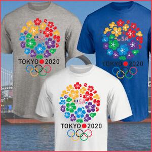 NEW!! Olympic Games Tokyo 2021 T-Shirt, Olympic 2020 USA Team T-Shirt Unisex