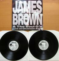 James Brown & The Soul G's Live At Chastain Park 2LP Gatefold EXCELLENT JAM 1984