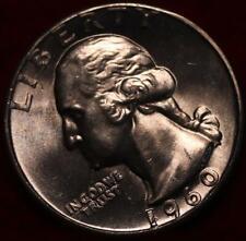 Uncirculated 1960 Philadelphia Mint Silver Washington Quarter