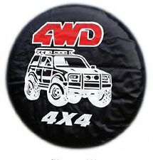 """Diameter 70-75cm 15"""" Universal 4WD Spare Tire Cover Wheel Covers (all car)"""