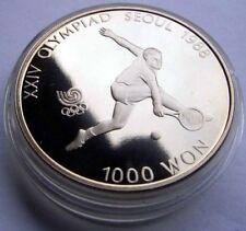 Sammlung 4 Münzen 3 x 1000 & 1x 2000 Won Süd Korea PP