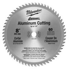 Milwaukee 48-40-4540 8-Inch 60 Tooth Metal Cutting Aluminum Circular Saw Blade