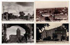 5 - OKLAHOMA UNIVERSITY Soonerland - c1940 Photo POSTCARDS College Campus NORMAN