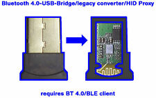 Bluetooth 4.0/BLE-USB-Bridge - HID Proxy - legacy  - TV adapter/dongle