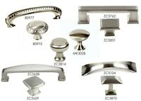 Knob Pull & Handle Kitchen Cabinet Hardware in Brushed Nickel Collection by KPT