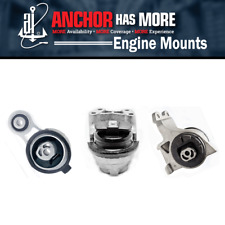 3X Anchor Engine Auto Transmission Mount Kit Fits 2009 FORD FLEX V6 3.5L AY30