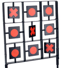 NEW 2 Duel Player Dueling Tic Tac Toe Target Shooting Airgun Pellet Game UK