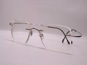 Silhouette Titan Frameless Square Frames Spring Eyeglasses Made in Austria
