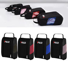 Golf Shoes Bag Pockets Boot Zipped Sports Shoe Carrier Gift for Tennis