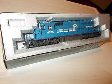 Kato Ho Emd Sd40-2 (Conrail) # 6375,Dcc Ready,Custom Painted,Weathered and Rare