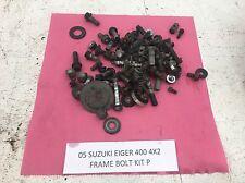 05 SUZUKI EIGER 400 LTA400 2X4 FRAME BOLTS KIT MISC NUT BOLT PARTS WASHER ETC P