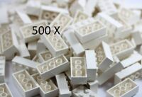 LEGO® Brick, 2 X 4 White 500 X Bricks Part 3001 - Bulk Buy