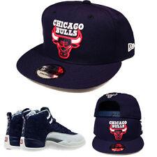 New Era Chicago Bulls Snapback Hat Match Jordan 12 Japan International Flight