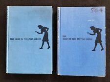 RARE Nancy Drew- The Clue in the Old Album & Tapping Heels Carolyn Keene 1939