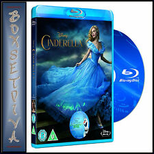 CINDERELLA - DISNEY - Lily James  *BRAND NEW  BLU-RAY ***