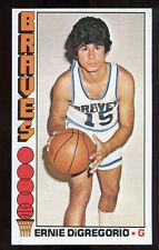 1976-77 Topps #82 Ernie DiGregorio Buffalo Braves Carte NBA Basketball