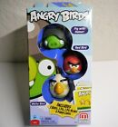 New Angry Birds Red Bird, Gray Helmet Pig, White Bird Add-On, 3-Pack