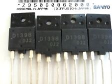2SD1398 NPN 1500V 5A 50W SW TRANSISTOR LOT OF 5