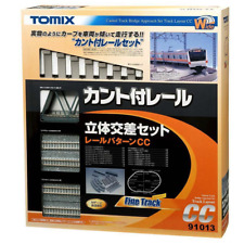 Tomix 91013 Canted Track Bridge Approach Set Track Layout Pattern CC - N