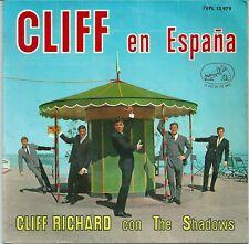 Cliff Richard - Cliff En Espana (EP) 1963 ESPAGNE Spain with The Shadows