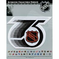 National Hockey League NHL 75th Anniversary Jersey Sleeve Logo Patch 1992 Season