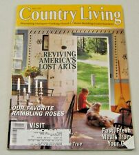 Country Living Magazine May 1997 America's Lost Arts