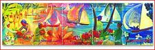 COC9901 Boat Racing 5 stamps