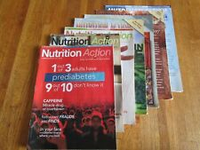 """Nutrition Action"" Health Letter magazine 7 Issues 3/2017-3/2006-1/2008 VGC"