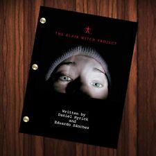 The Blair Witch Project Movie Script Reprint Full Screenplay Full Script Horror