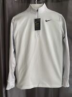 Nike  Men's Essential Therma Half-Zip Golf Pullover, Size M Obsidian Blue NWT