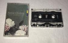 New Order Power, Corruption & Lies Audio Cassette Tape + 2 Bonus Songs Tracks