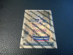 Sterling Marlin 1997 97 Pinnacle Precision Steel Gold Parallel Insert Card #21