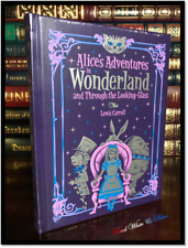 Alice in Wonderland Sealed Illustrated Leather Bound Children's Gift Collectible