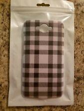 Motorola Droid Turbo Gingham Print Thin Phone Case