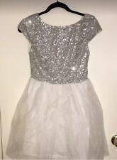 Delia's White Sparkly Dress