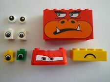 Lego Assorted Eyes and Faces Bricks and Tiles