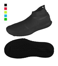 Reusable Silicone Waterproof Shoe Covers, No-Slip Silicone Rubber Shoe...