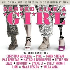 SERVED LIKE A GIRL WITH TRACKS BY PINK, GWEN STEFANI, LYKKE LI AND MORE  CD NEUF