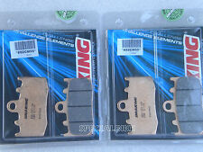 BMW R 1150 RT GS ADVENTURE PASTIGLIE FRENO BRAKING CM55 BRAKE PADS