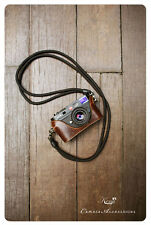 NEW!!! Kenji Leather Half Case for Leica M8 M9 M9P Premium Brown available NOW!*