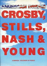 CROSBY STILLS NASH & YOUNG american dream 12INCH 45 RPM UK 1988 EX