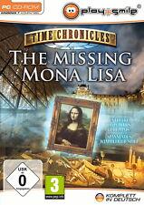 Time Chronicles * The Missing Mona Lisa * fourmilière-Jeu PC CD-ROM
