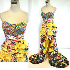 NWT JOVANI 7450 Multi-Color $460 Prom Evening Gown 2