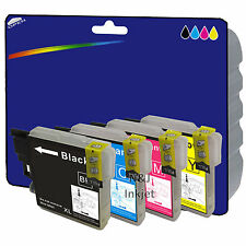 1 Set of Compatible Printer Ink Cartridges for Brother MFC-J430W [LC1280]