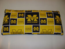 """CORN Heating Bag HOT or COLD-6""""x14"""" University Michigan Wolverines tailgate GIFT"""