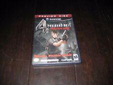 Resident Evil 4 by Capcom Nintendo Gamecube - Preview Disc - Original