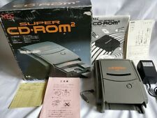 NEC PC Engine SUPER CD-ROM2 Unit System,PSU,Power cable Boxed /tested-b322-