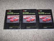 1999 Mitsubishi Eclipse Shop Service Repair Manual RS GS GS-T GSX Turbo Spyder