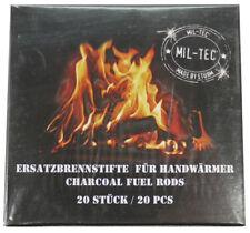 Ersatzbrennstifte für Handwärmer / Taschenofen MILTEC