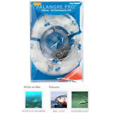 PALANGRE PRO 20 ou 30 HAMECONS FLASHMER / PRO longline with 20 or 30 hooks New